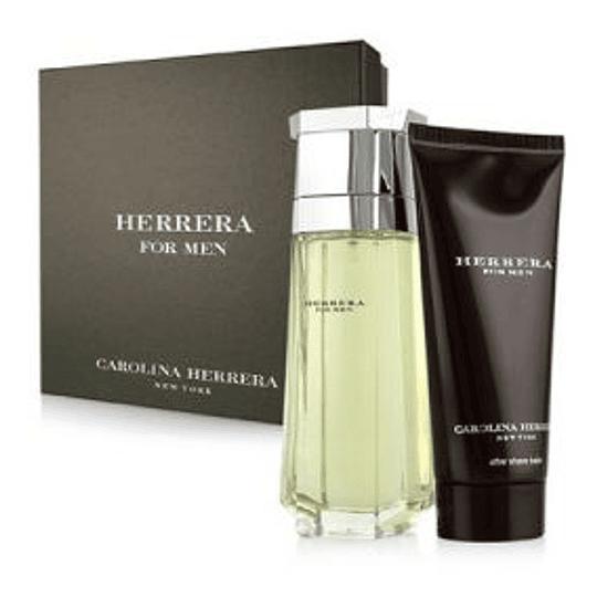 Herrera For Men para hombre / SET - 100 ml Eau De Toilette Spray