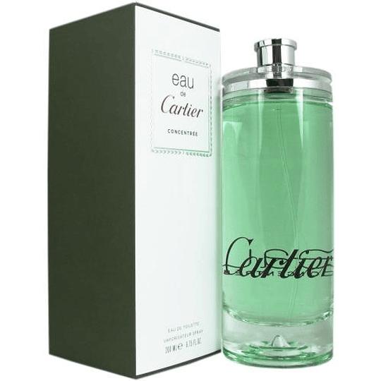 Eau de Cartier Concentree para hombre y mujer / 200 ml Eau De Toilette Spray