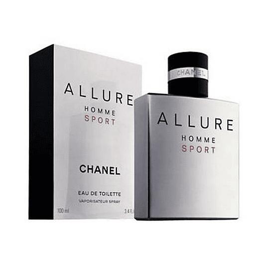 Allure Homme Sport para hombre / 100 ml Eau De Toilette Spray