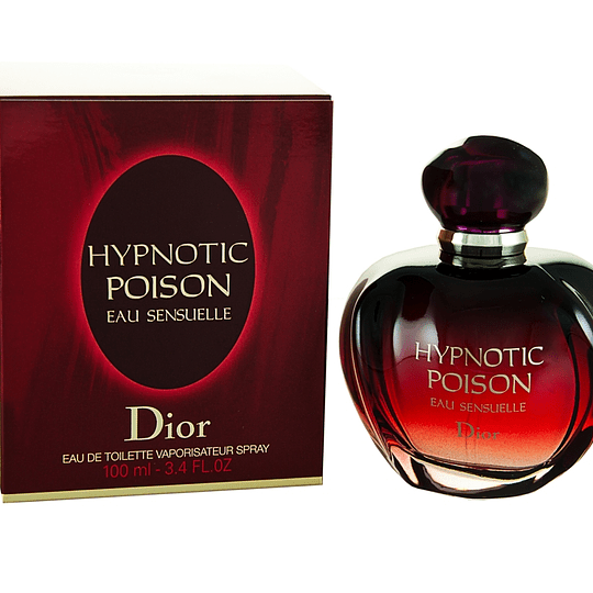 Hypnotic Poison Eau Sensuelle para mujer / 100 ml Eau De Toilette Spray