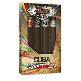 (M) ESTUCHE - Cuba America 4 X 35 ml EDT Spray
