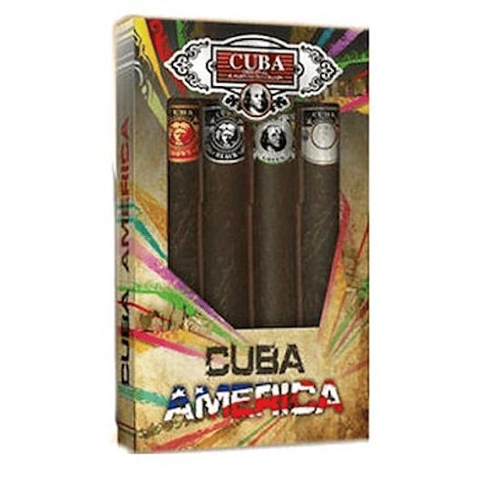 Cuba America para hombre / SET - 4 X 35 ml Eau De Toilette Spray
