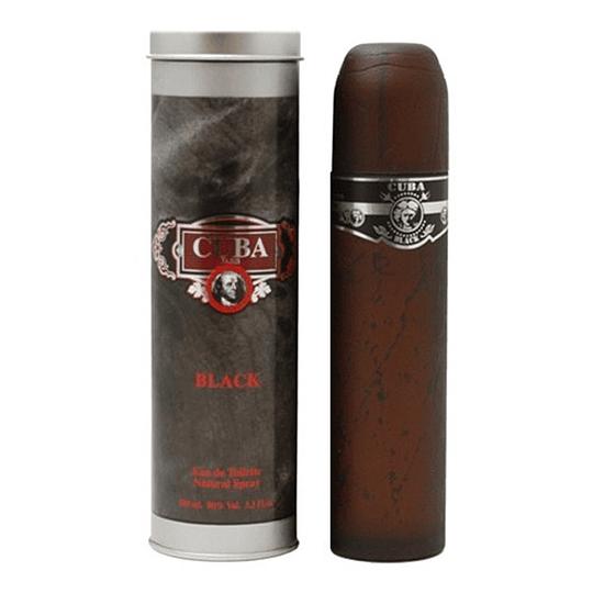 Cuba Black para hombre / 100 ml Eau De Toilette Spray
