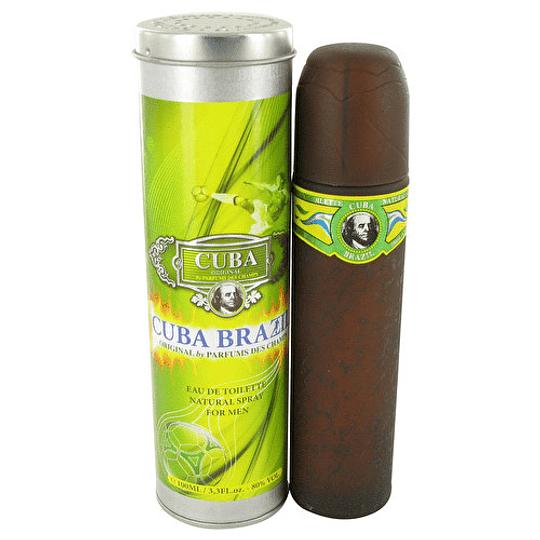Cuba Brazil para hombre / 100 ml Eau De Toilette Spray