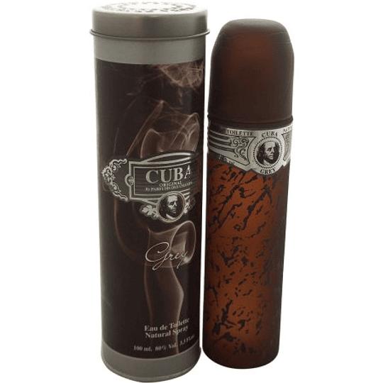 Cuba Grey para hombre / 100 ml Eau De Toilette Spray