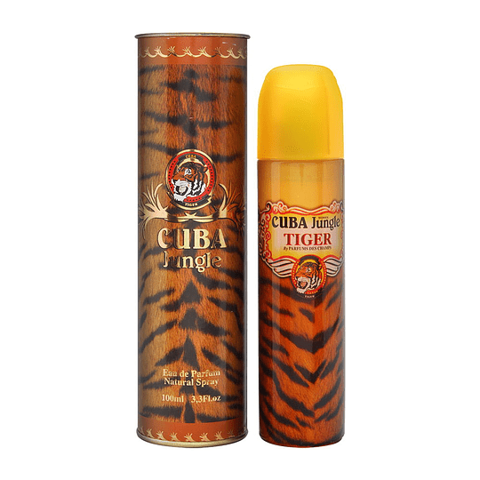 Cuba Jungle Tiger para mujer / 100 ml Eau De Parfum Spray