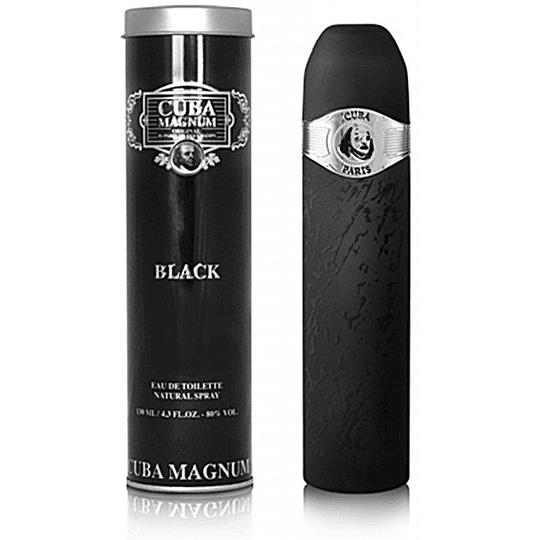Cuba Magnum Black para hombre / 130 ml Eau De Toilette Spray