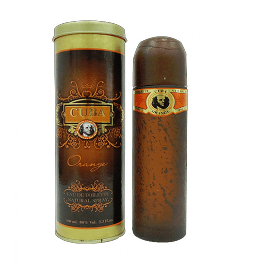 Cuba Orange para hombre / 100 ml Eau De Toilette Spray