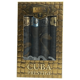 (M) ESTUCHE - Cuba Prestige 4 X 35 ml EDT Spray