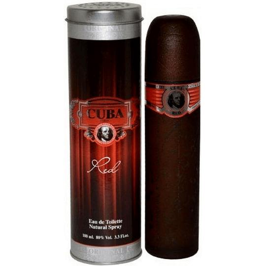 Cuba Red para hombre / 100 ml Eau De Toilette Spray