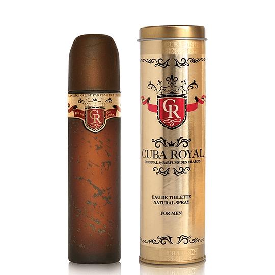 Cuba Royal para hombre / 100 ml Eau De Toilette Spray