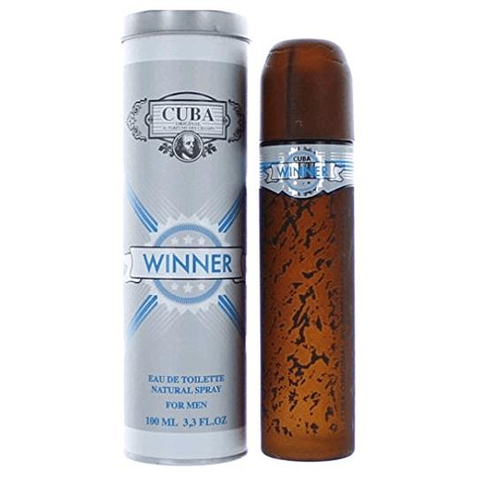Cuba Winner para hombre / 100 ml Eau De Toilette Spray