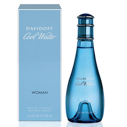Cool Water para mujer / 100 ml Eau De Toilette Spray