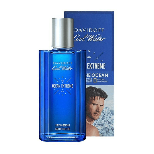 Cool Water Ocean Extreme para hombre / 75 ml Eau De Toilette Spray