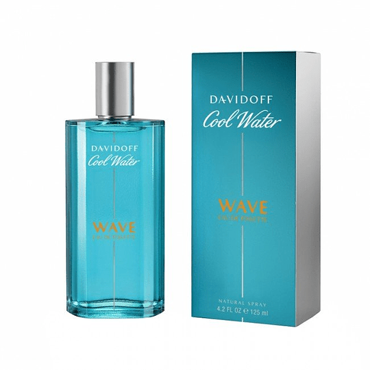 Cool Water Wave para hombre / 125 ml Eau De Toilette Spray