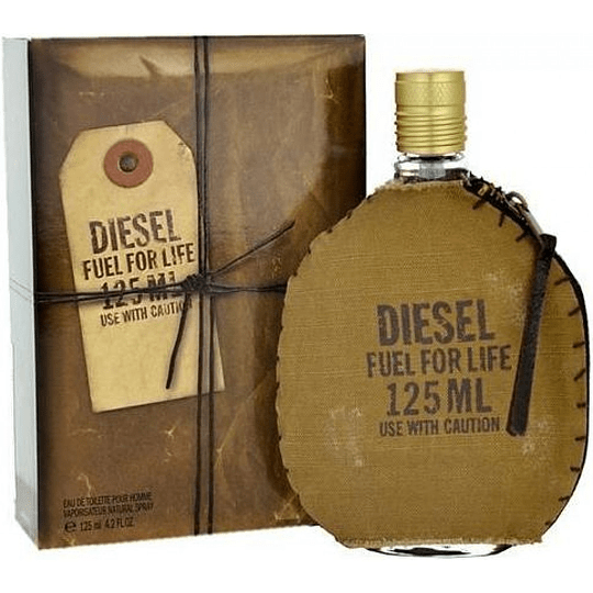 Diesel Fuel For Life para hombre / 125 ml Eau De Toilette Spray