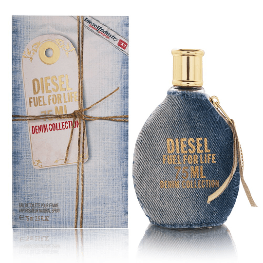 Diesel Fuel For Life (Denim collection) para mujer / 100 ml Eau De Toilette Spray