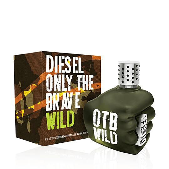 Diesel Only The Brave Wild para hombre / 125 ml Eau De Toilette Spray
