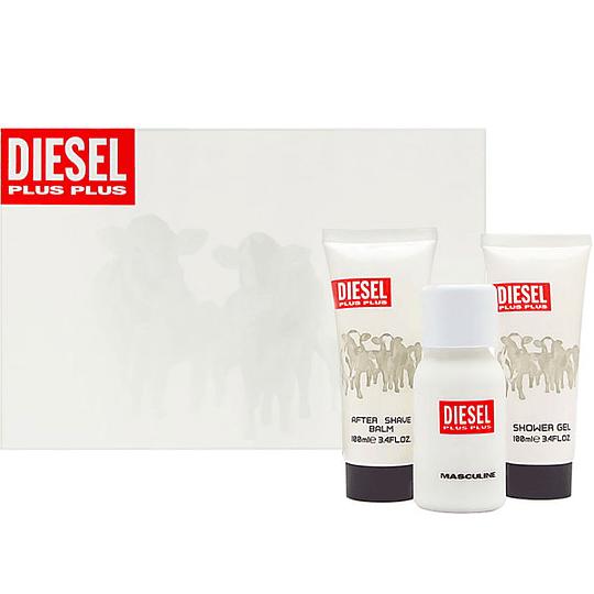Diesel Plus Plus para hombre / SET - 75 ml Eau De Toilette Spray