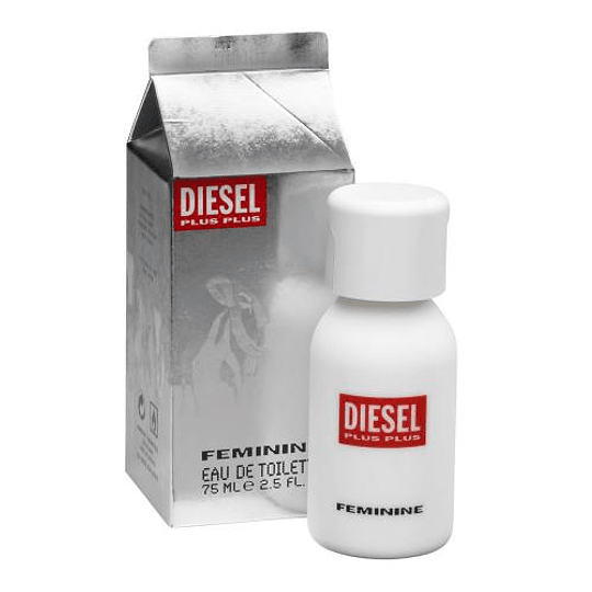 Diesel Plus Plus para mujer / 75 ml Eau De Toilette Spray