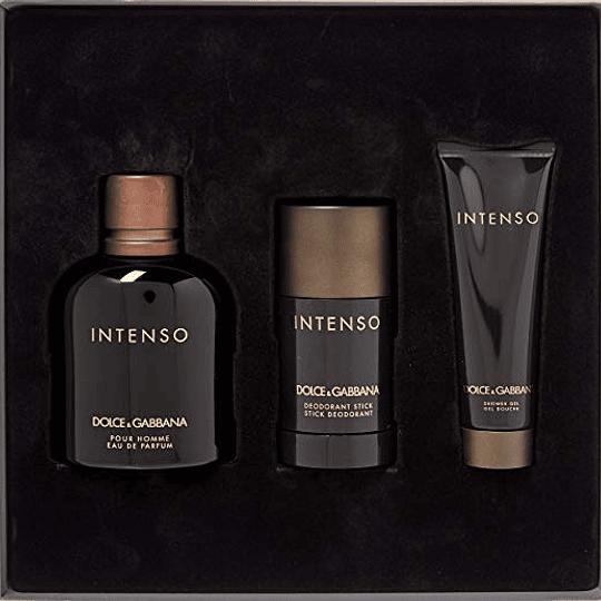 Dolce & Gabbana Intenso para hombre / SET - 125 ml Eau De Parfum Spray