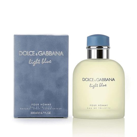 Light Blue para hombre / 200 ml Eau De Toilette Spray