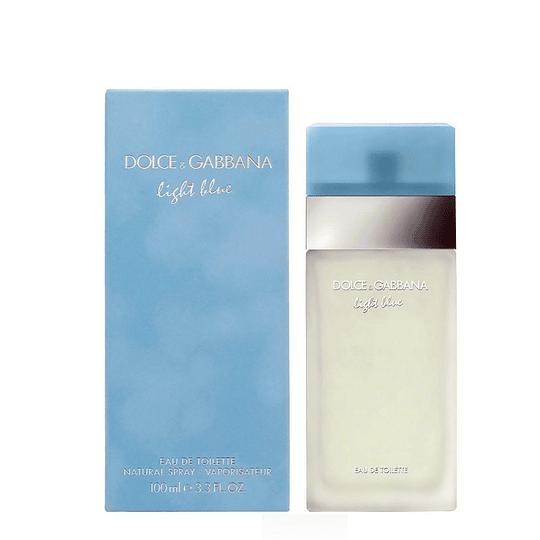 Light Blue para mujer / 100 ml Eau De Toilette Spray