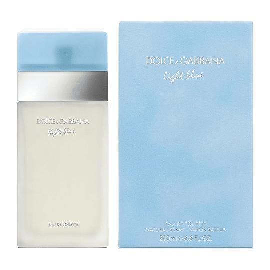 Light Blue para mujer / 200 ml Eau De Toilette Spray