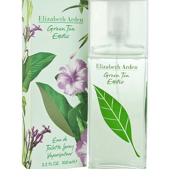Green Tea Exotic para mujer / 100 ml Eau De Toilette Spray