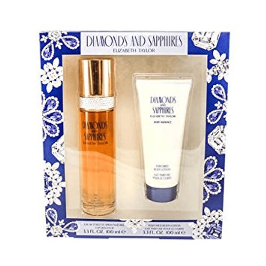 Diamonds & Saphires para mujer / SET - 100 ml Eau De Toilette Spray