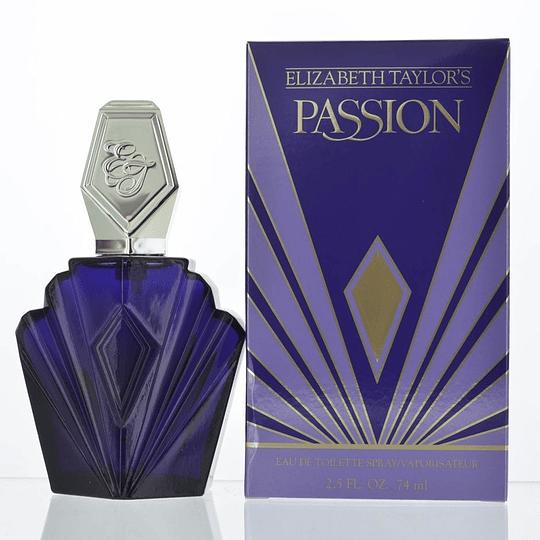 Passion para mujer / 75 ml Eau De Toilette Spray