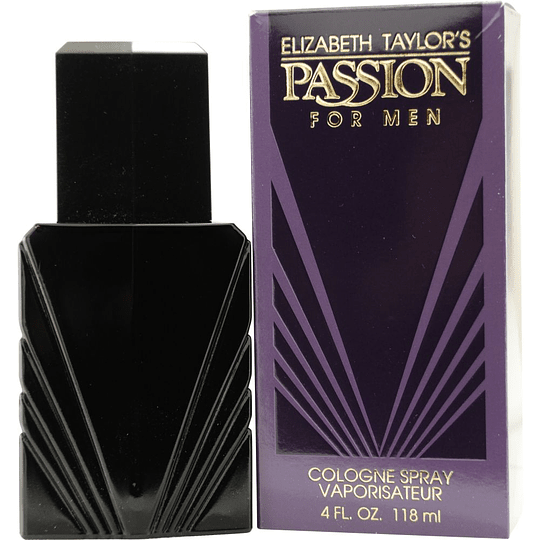 Passion Men para hombre / 120 ml Eau De Cologne Spray