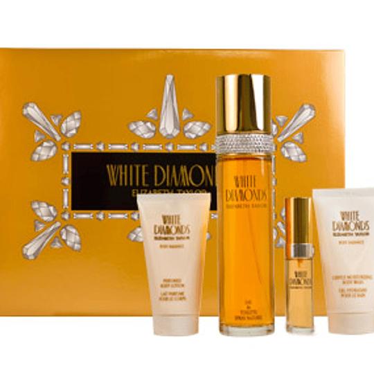 White Diamonds para mujer / SET - 100 ml Eau de Toilette Spray