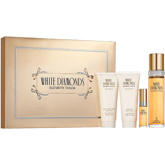 White Diamonds para mujer / SET - 100 ml Eau De Toilette Spray