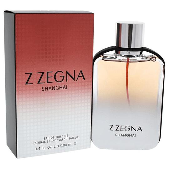 Z Zegna Shanghai para hombre / 100 ml Eau De Toilette Spray