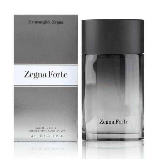 Zegna Forte para hombre / 100 ml Eau De Toilette Spray