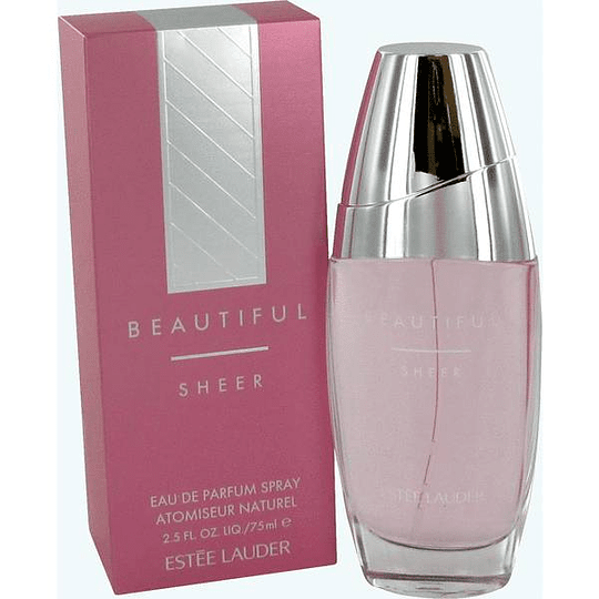 Beautiful Sheer para mujer / 75 ml Eau De Parfum Spray