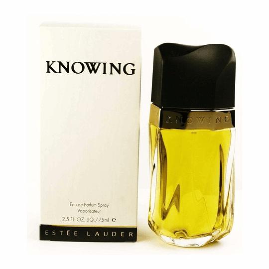 Knowing para mujer / 75 ml Eau De Parfum Spray