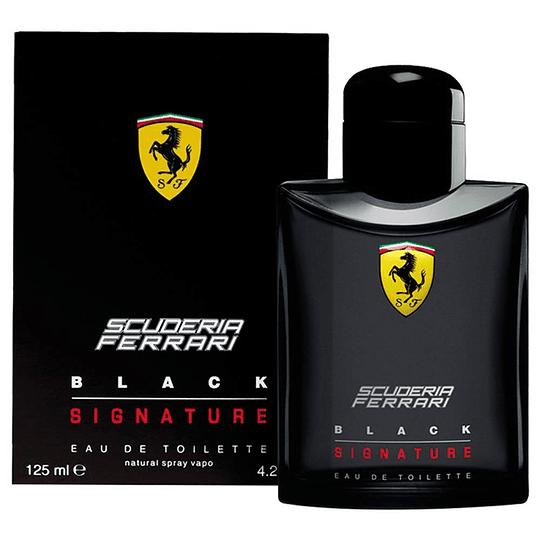 Ferrari Black Signature para hombre / 125 ml Eau De Toilette Spray