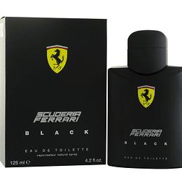 (M) Ferrari Scuderia Black 125 ml EDT Spray