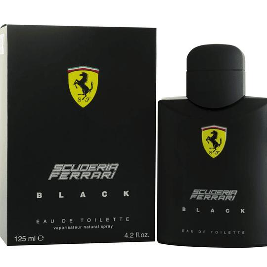 Ferrari Scuderia Black para hombre / 125 ml Eau De Toilette Spray