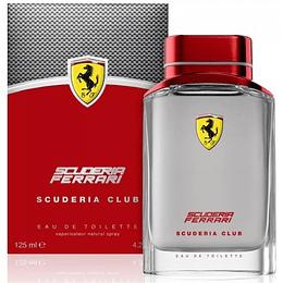 (M) Ferrari Scuderia Club 125 ml EDT Spray