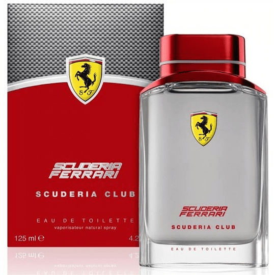Ferrari Scuderia Club para hombre / 125 ml Eau De Toilette Spray