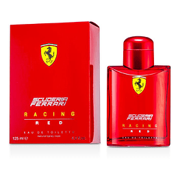 (M) Ferrari Scuderia Racing Red 125 ml EDT Spray