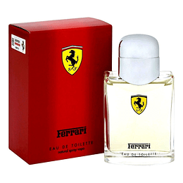 (M) Ferrari Scuderia Red 125 ml EDT Spray