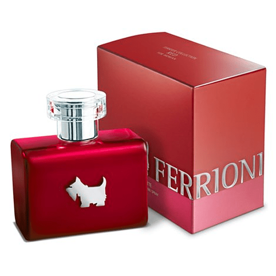 (W) Ferrioni Terrier Red 100 ml EDT Spray