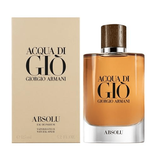 Acqua Di Gio Absolu para hombre / 125 ml Eau De Parfum Spray