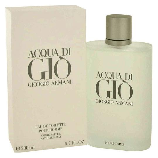 Acqua Di Gio para hombre / 200 ml Eau De Toilette Spray