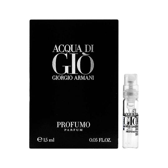 Acqua Di Gio Profumo para hombre / AMPOLLETA - 1.5 ml Eau De Parfum Spray
