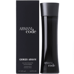(M) Armani Code 125 ml EDT Spray